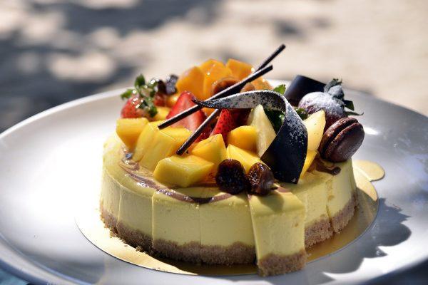 ristorazione tecniche pasticceria: torta frutta