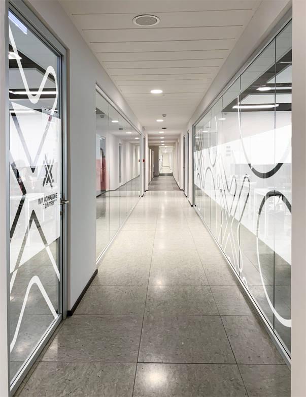 sede della scuola: corridoio
